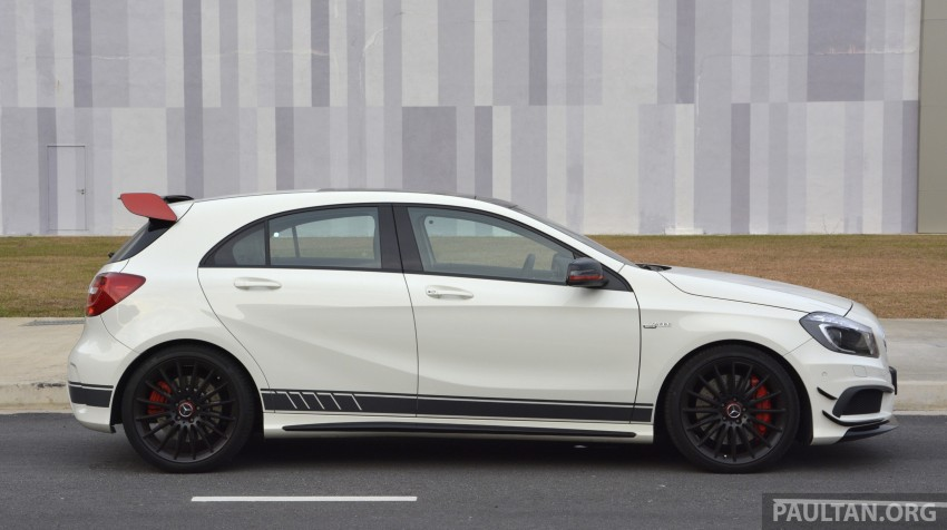 DRIVEN: Mercedes-Benz A 45 AMG – a double take Image #238381