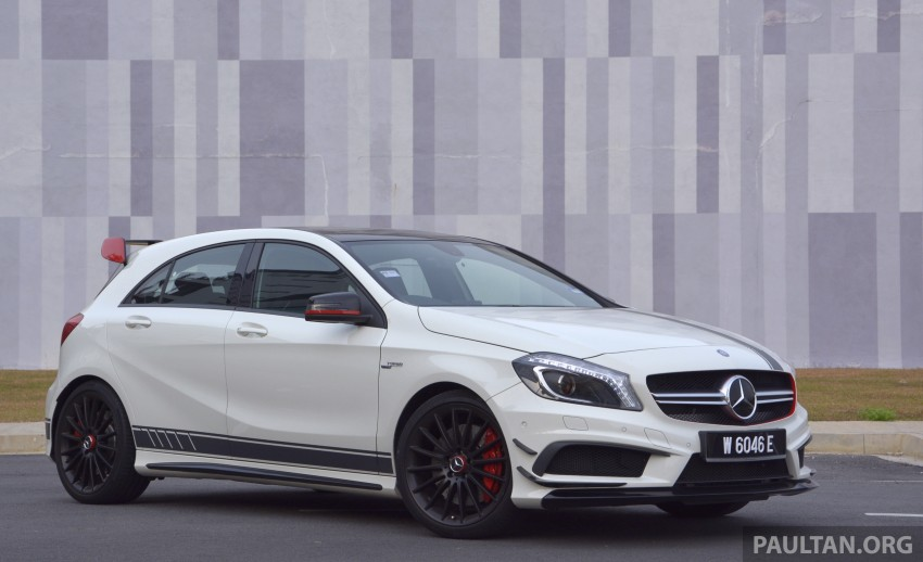 DRIVEN: Mercedes-Benz A 45 AMG – a double take Image #238380