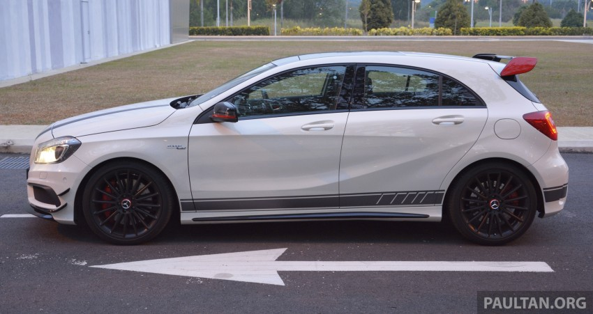 DRIVEN: Mercedes-Benz A 45 AMG – a double take Image #238377