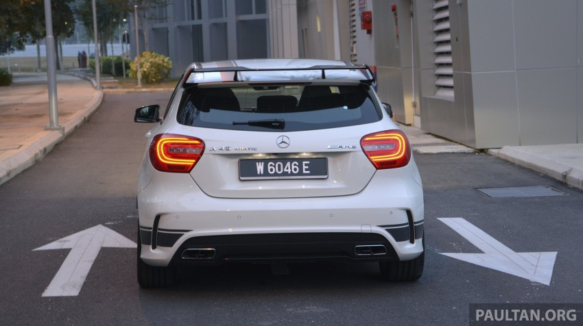 DRIVEN: Mercedes-Benz A 45 AMG – a double take Image #238376