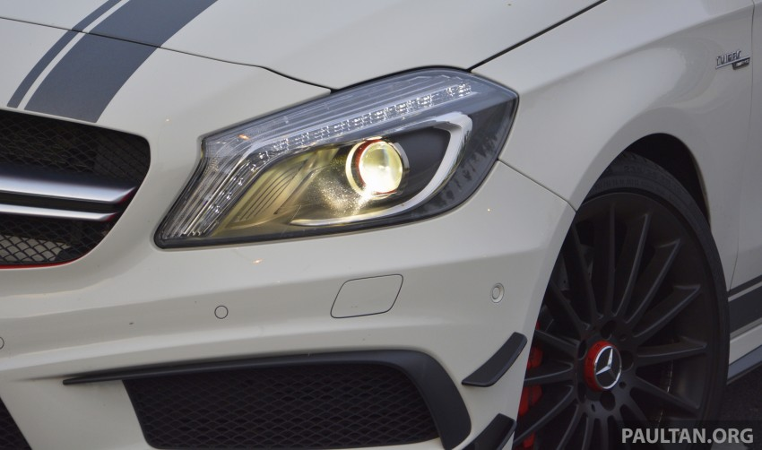 DRIVEN: Mercedes-Benz A 45 AMG – a double take Image #238374