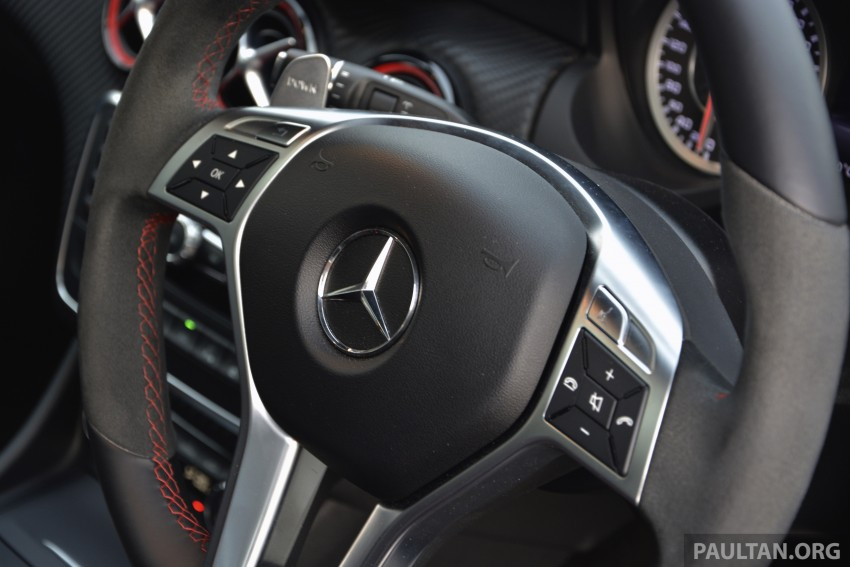 DRIVEN: Mercedes-Benz A 45 AMG – a double take Image #238369
