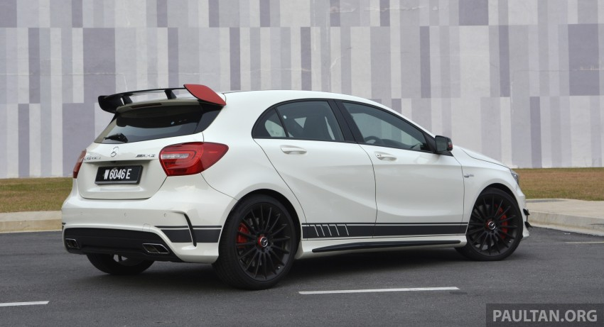 DRIVEN: Mercedes-Benz A 45 AMG – a double take Image #238368