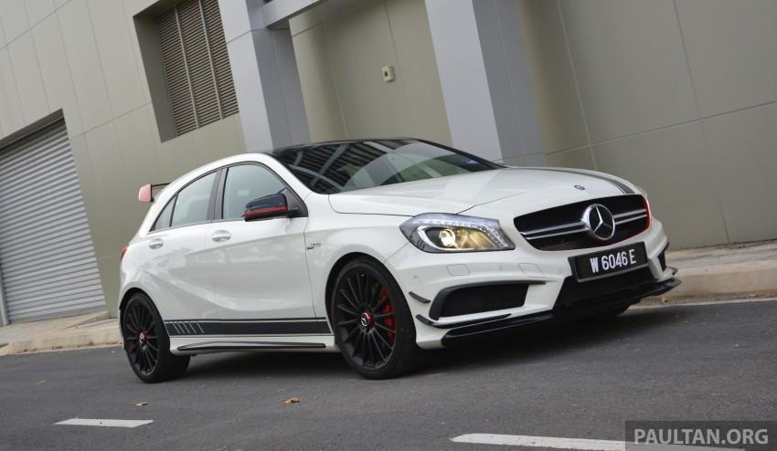DRIVEN: Mercedes-Benz A 45 AMG – a double take Image #238366