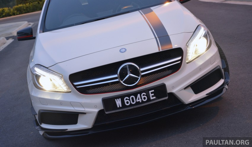DRIVEN: Mercedes-Benz A 45 AMG – a double take Image #238364