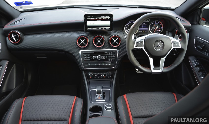 DRIVEN: Mercedes-Benz A 45 AMG – a double take Image #238362