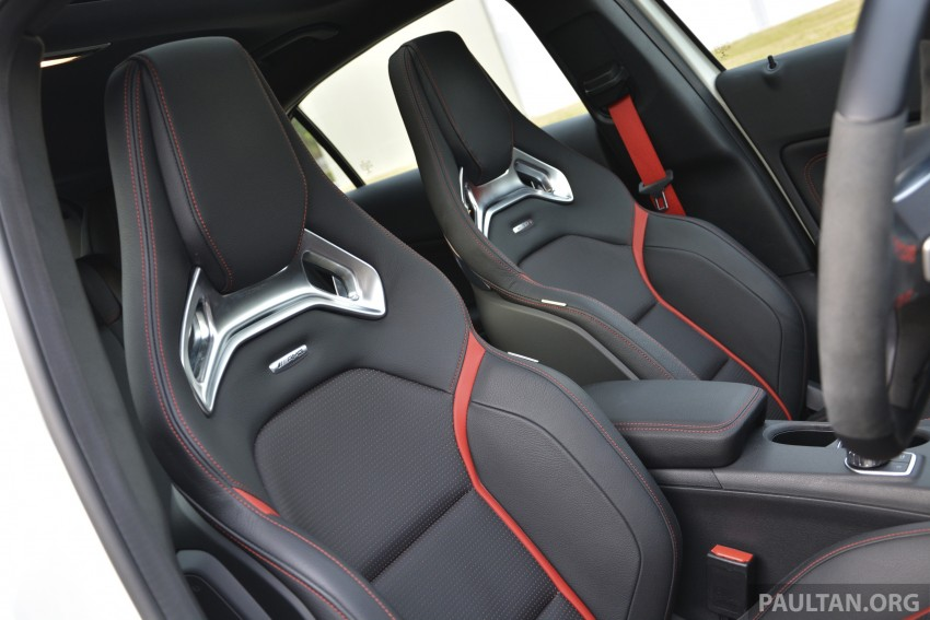 DRIVEN: Mercedes-Benz A 45 AMG – a double take Image #238361
