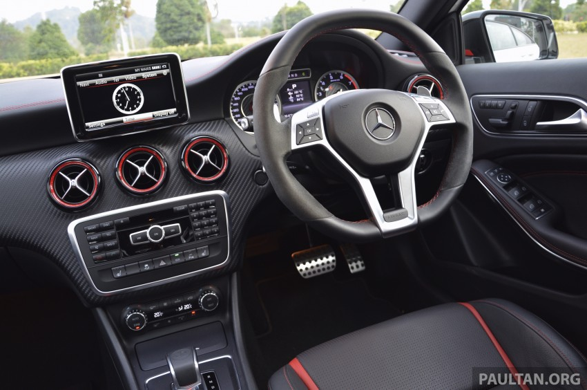 DRIVEN: Mercedes-Benz A 45 AMG – a double take Image #238360