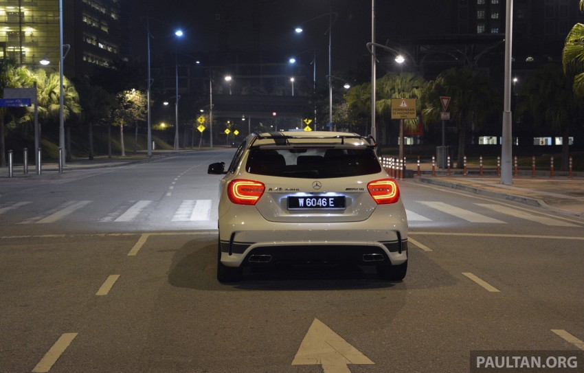 DRIVEN: Mercedes-Benz A 45 AMG – a double take Image #238395