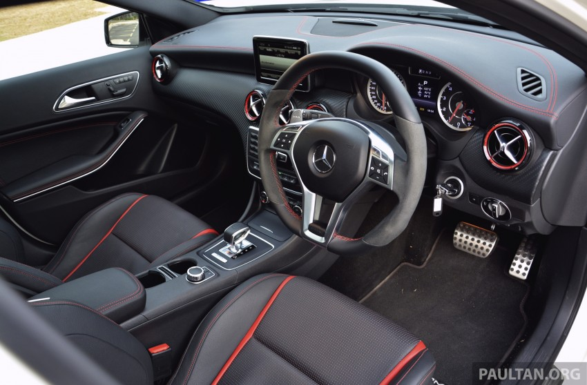 DRIVEN: Mercedes-Benz A 45 AMG – a double take Image #238357