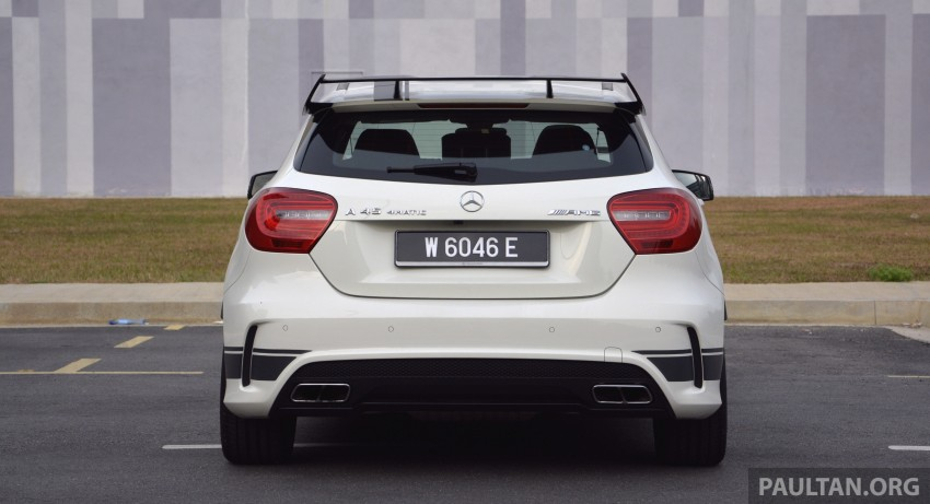 DRIVEN: Mercedes-Benz A 45 AMG – a double take Image #238356