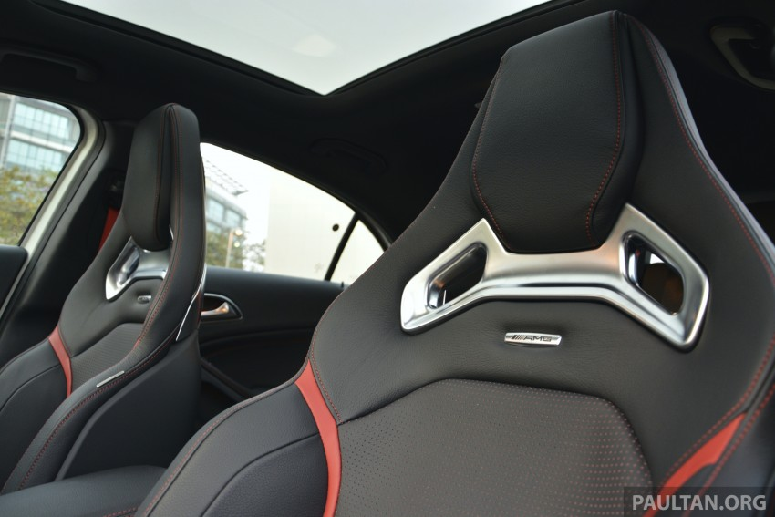 DRIVEN: Mercedes-Benz A 45 AMG – a double take Image #238344
