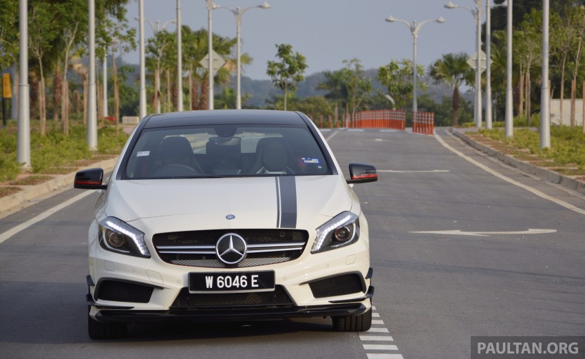 DRIVEN: Mercedes-Benz A 45 AMG – a double take Image #238341