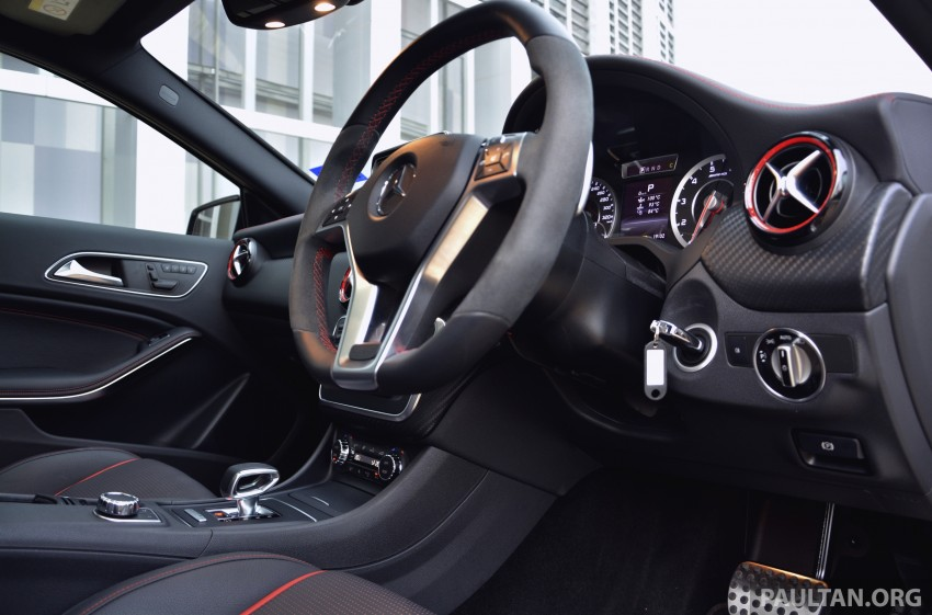 DRIVEN: Mercedes-Benz A 45 AMG – a double take Image #238393