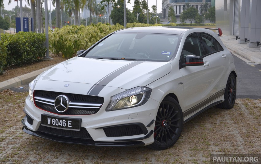 DRIVEN: Mercedes-Benz A 45 AMG – a double take Image #238392