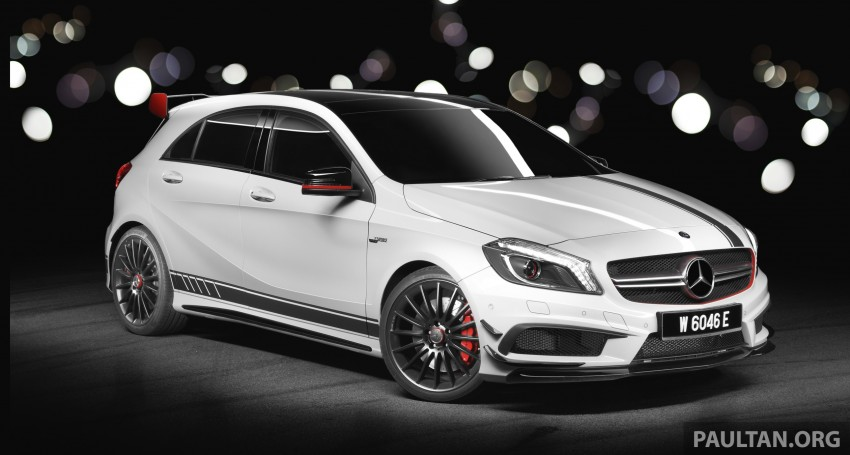 DRIVEN: Mercedes-Benz A 45 AMG – a double take Image #239517