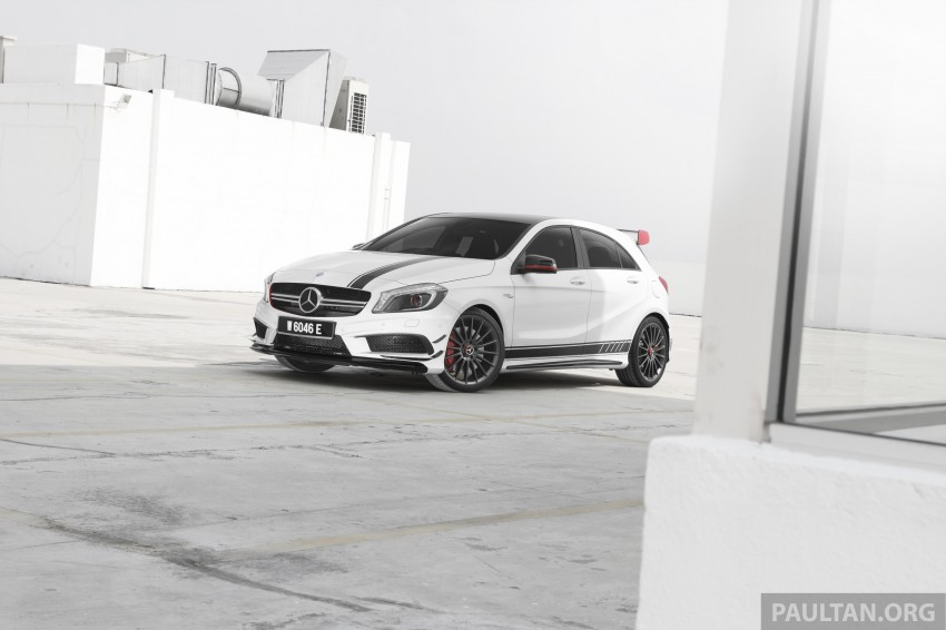 DRIVEN: Mercedes-Benz A 45 AMG – a double take Image #239515