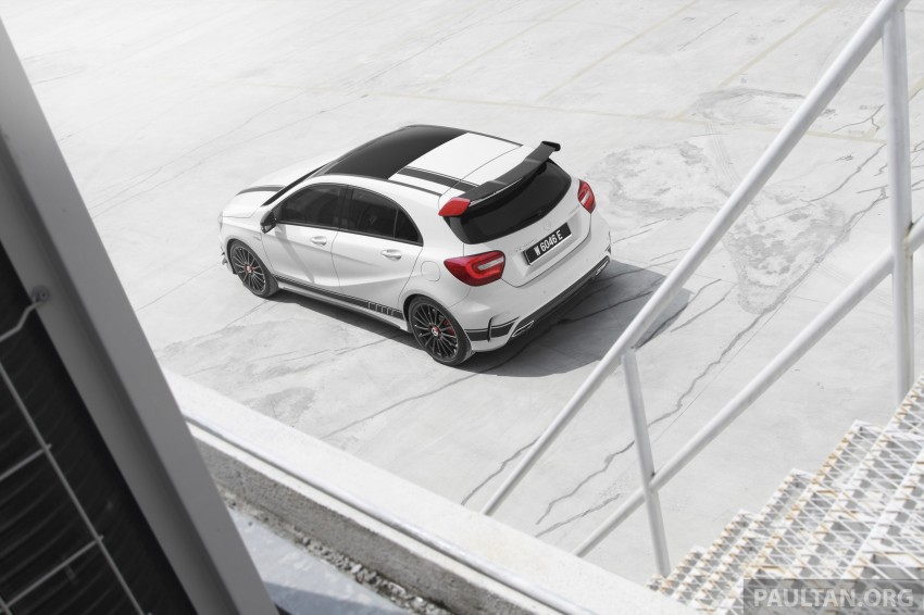 DRIVEN: Mercedes-Benz A 45 AMG – a double take Image #239514