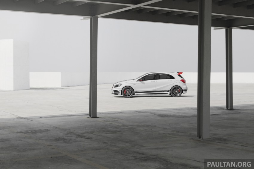 DRIVEN: Mercedes-Benz A 45 AMG – a double take Image #239513