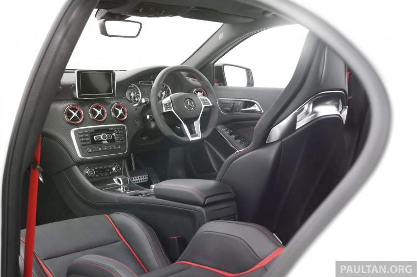 DRIVEN: Mercedes-Benz A 45 AMG – a double take Image #239512
