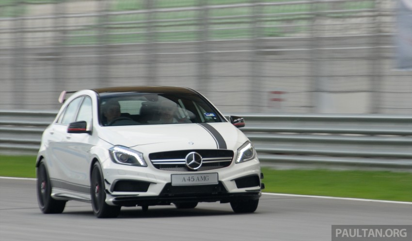 DRIVEN: Mercedes-Benz A 45 AMG – a double take Image #239510