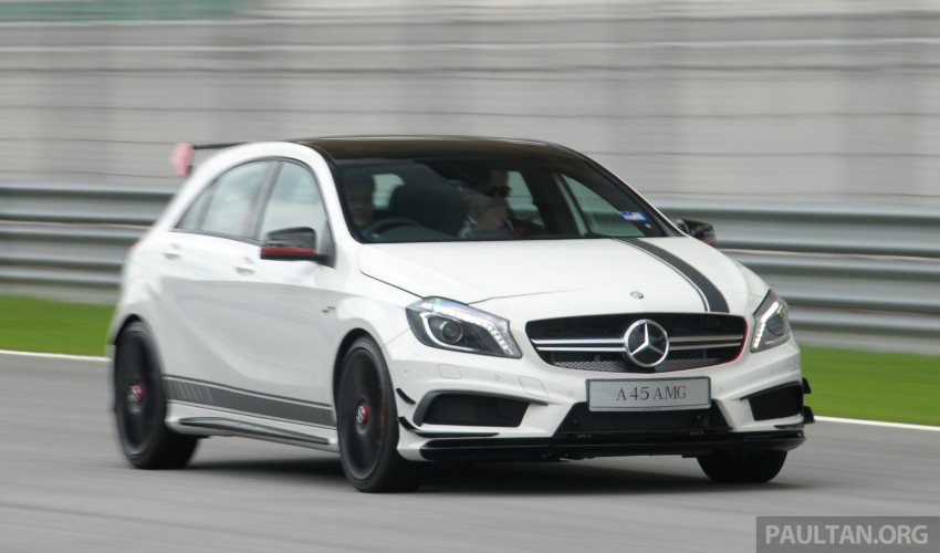 DRIVEN: Mercedes-Benz A 45 AMG – a double take Image #239509