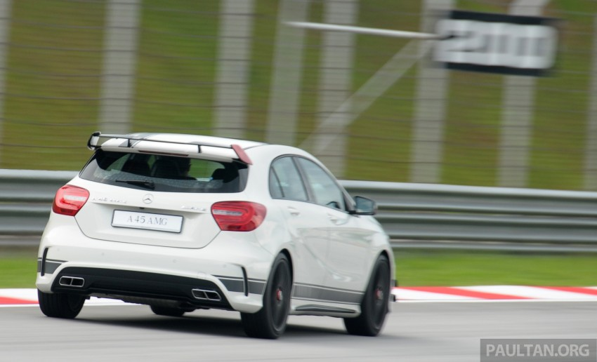 DRIVEN: Mercedes-Benz A 45 AMG – a double take Image #239508