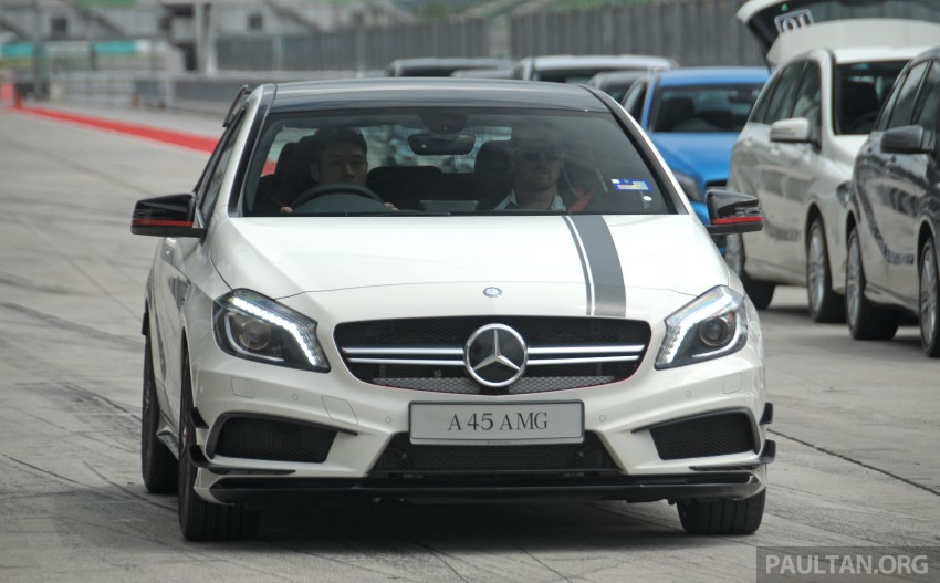 DRIVEN: Mercedes-Benz A 45 AMG – a double take Image #239507