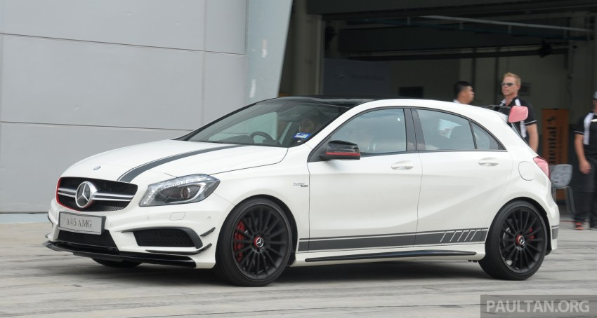 DRIVEN: Mercedes-Benz A 45 AMG – a double take Image #239506