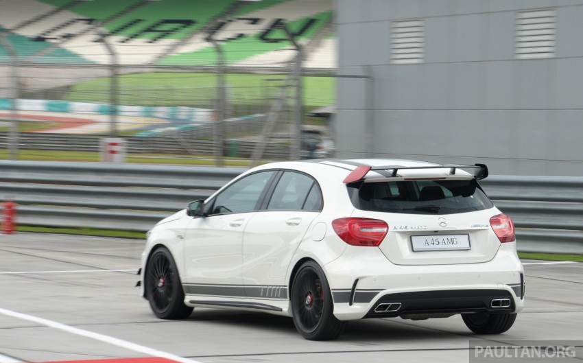 DRIVEN: Mercedes-Benz A 45 AMG – a double take Image #239503