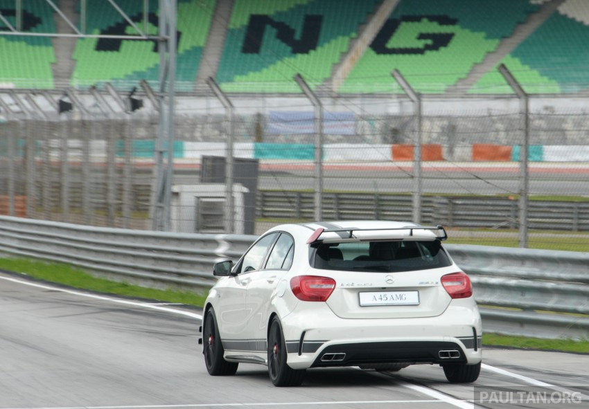 DRIVEN: Mercedes-Benz A 45 AMG – a double take Image #239502