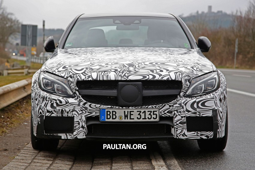 Mercedes-Benz readying next generation C63 AMG Image #235772