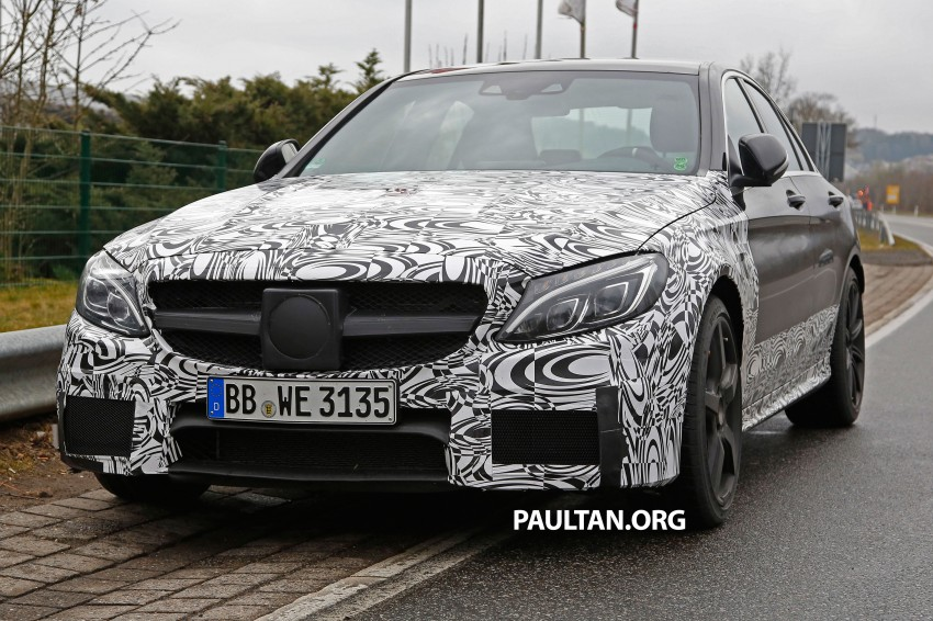 Mercedes-Benz readying next generation C63 AMG Image #235770