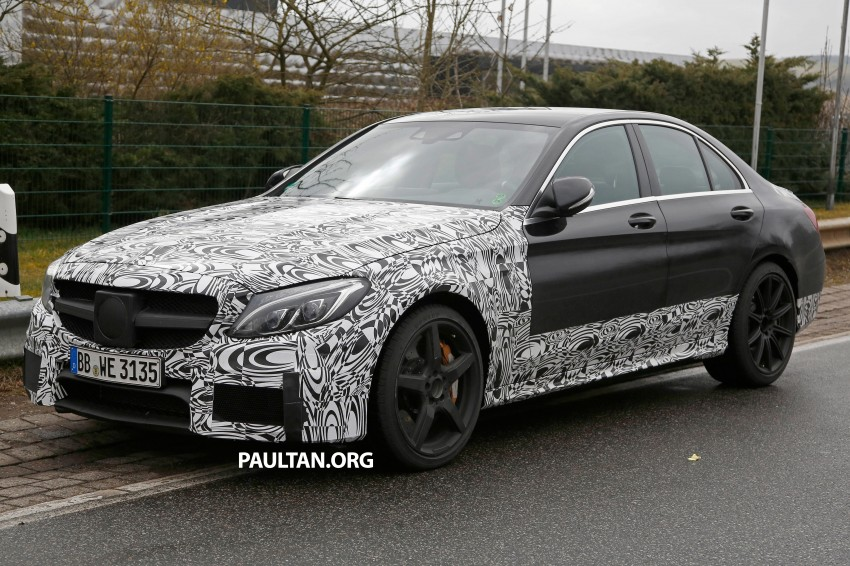 Mercedes-Benz readying next generation C63 AMG Image #235771
