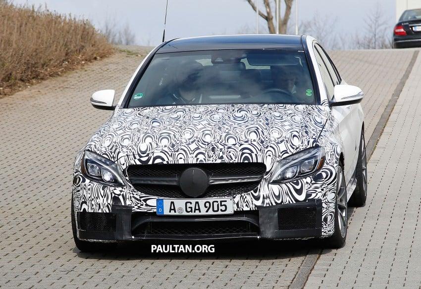 Mercedes-Benz readying next generation C63 AMG Image #237559