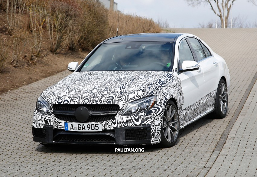 Mercedes-Benz readying next generation C63 AMG Image #237558