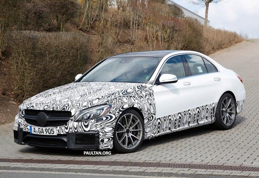 Mercedes-Benz readying next generation C63 AMG Image #237555