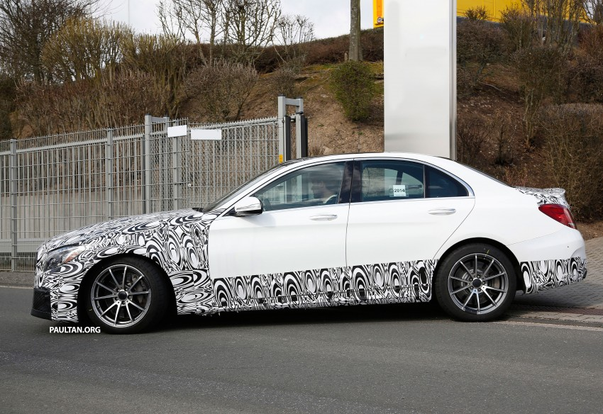 Mercedes-Benz readying next generation C63 AMG Image #237554