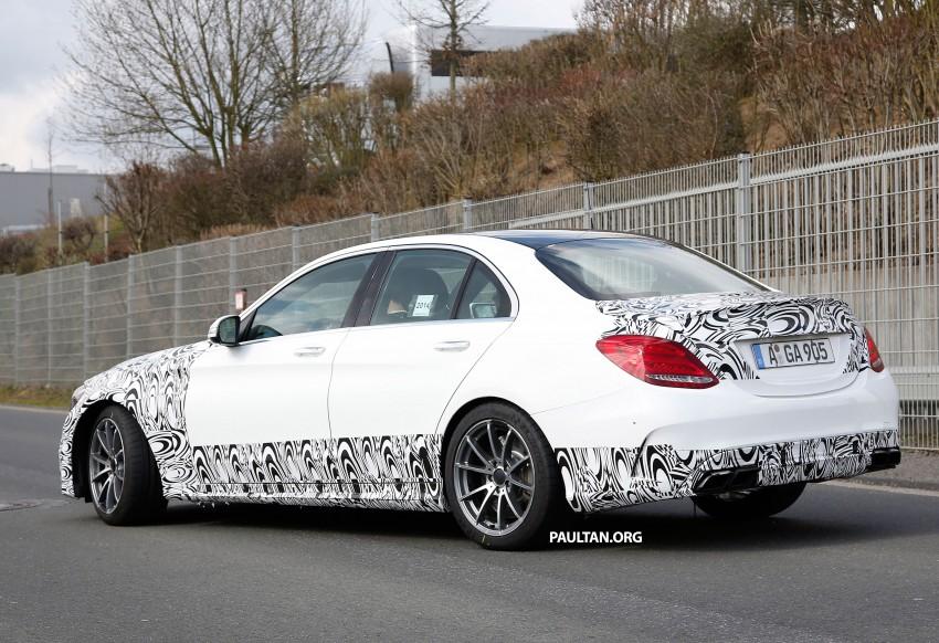Mercedes-Benz readying next generation C63 AMG Image #237557