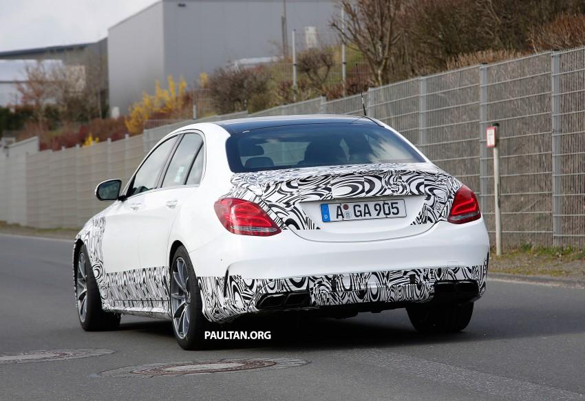 Mercedes-Benz readying next generation C63 AMG Image #237556