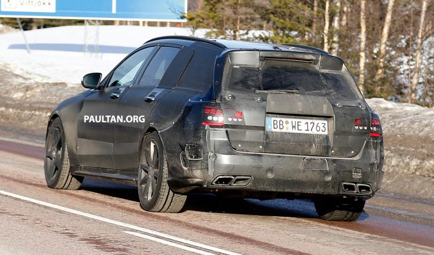 SPYSHOTS: Mercedes-Benz C 63 AMG super wagon Image #234810