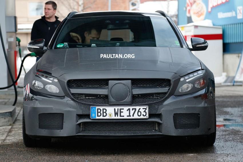 SPYSHOTS: Mercedes-Benz C 63 AMG super wagon Image #234811