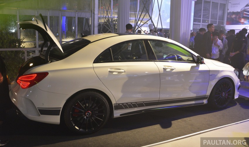Mercedes-Benz CLA-Class launched in Malaysia – CLA 200, RM236k, CLA 45 AMG pricing to be confirmed Image #238268