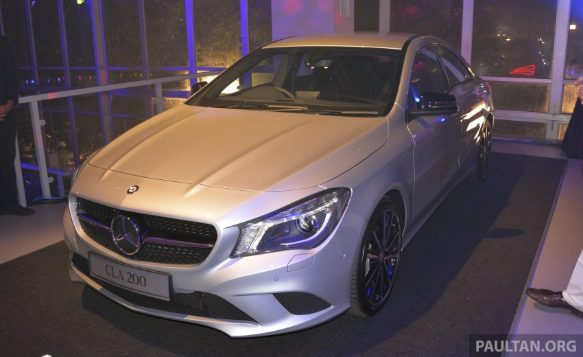 Mercedes-Benz CLA-Class launched in Malaysia – CLA 200, RM236k, CLA 45 AMG pricing to be confirmed Image #238279