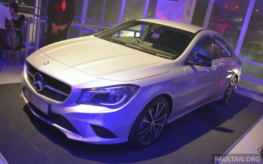 Mercedes-Benz CLA-Class launched in Malaysia – CLA 200, RM236k, CLA 45 AMG pricing to be confirmed Image #238260