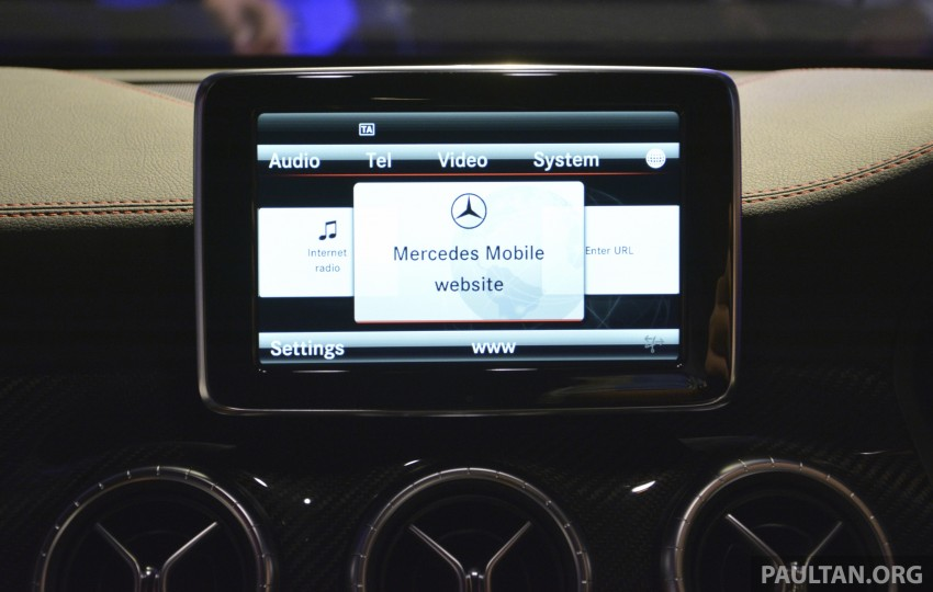 Mercedes-Benz CLA-Class launched in Malaysia – CLA 200, RM236k, CLA 45 AMG pricing to be confirmed Image #238262