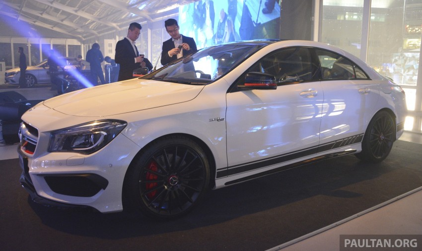 Mercedes-Benz CLA-Class launched in Malaysia – CLA 200, RM236k, CLA 45 AMG pricing to be confirmed Image #238264