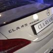 Mercedes CLA launch 2