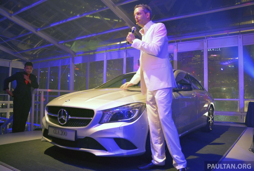Mercedes-Benz CLA-Class launched in Malaysia – CLA 200, RM236k, CLA 45 AMG pricing to be confirmed Image #238266
