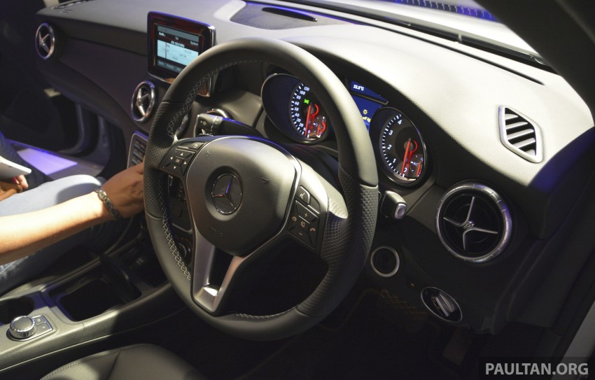 Mercedes-Benz CLA-Class launched in Malaysia – CLA 200, RM236k, CLA 45 AMG pricing to be confirmed Image #238321